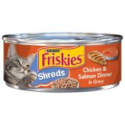 Friskies Buffet Shredded Salmon & Chicken Canned Cat Food