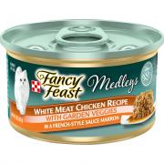 Fancy Feast Medleys White Meat chicken with Garden Veggies