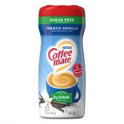 Nestle Coffee-Mate Sugar Free French Vanilla Creamer