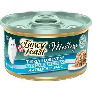Fancy Feast Elegant Medley Turkey Florentine Cat Food