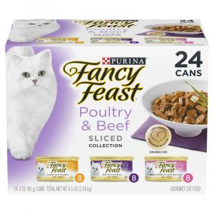 Fancy Feast Sliced Variety Pack Canned Cat Food