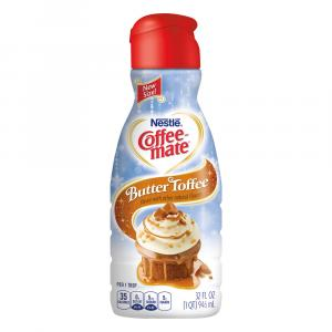 Coffeemate Butter Toffee Coffee Creamer