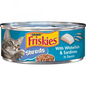 Friskies Savory Shredded Whitefish & Sardines