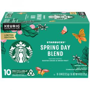 Starbucks Spring Day Blend Coffee K-Cups