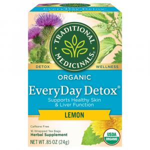 Traditional Medicinals Organic Everyday Detox Herbal Tea