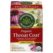 Traditional Medicinals Organic Lemon Echinacia Throat Coat