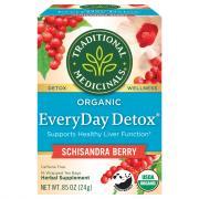 Traditional Medicinals Everyday Detox Tea Bags