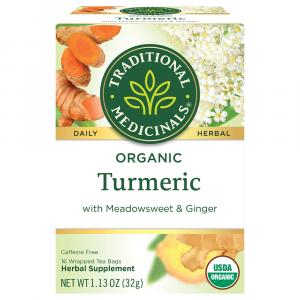 Traditional Organic Turmeric With Meadowsweet & Ginger