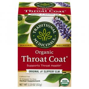 Traditional Medicinals Throat Coat Tea Bags
