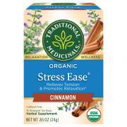 Traditional Medicinals Organic Stress Ease Cinnamon Tea