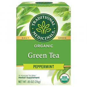 Traditional Medicinals Organic Green Peppermint Tea
