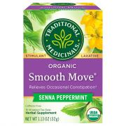 Traditional Medicinals Organic Smooth Move Herbal Supplement