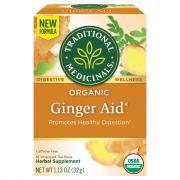 Traditional Medicinals Ginger Aid Tea Bags