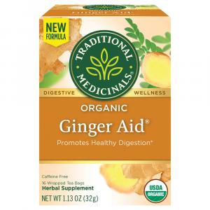 Traditional Medicinals Ginger Aid Tea Bags