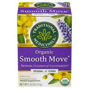 Traditional Medicinals Organic Smooth Move Senna Tea Bags