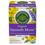 Traditional Medicinals Organic Smooth Move Senna Tea Bags