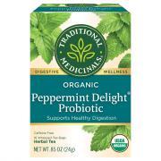 Traditional Medicinals Organic Peppermint Delight Tea Bags