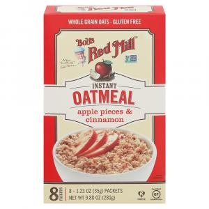 Bob's Red Mill Apple Pieces & Cinnamon Instant Oatmeal