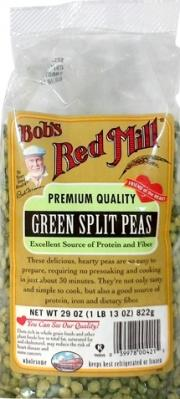 Bob's Red Mill Green Split Peas