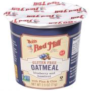 Bob's Red Mill Blueberry and Hazelnut Oatmeal