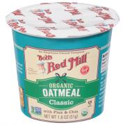 Bobs Red Mill Organic Gluten Free Oatmeal Classic