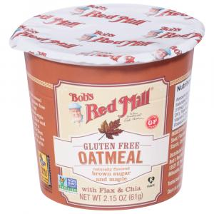 Bob's Red Mill Gluten-Free Brown Sugar and Maple Oatmeal