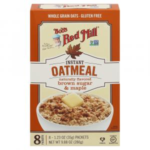 Bob's Red Mill Brown Sugar & Maple Instant Oatmeal