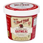 Bob's Red Mill Apple Pieces with Cinnamon Oatmeal