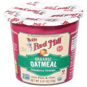 Bobs Red Mill Organic Gluten Free Oatmeal Cranberry Orange