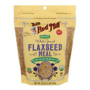 Bobs Red Mill Organic Gluten Free Whole Ground Flaxseed Meal