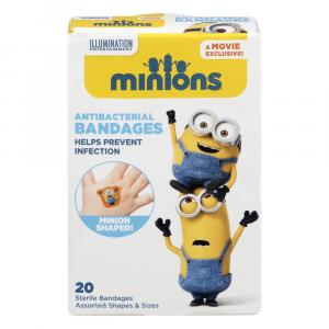 Despicable Me Minion Bandages