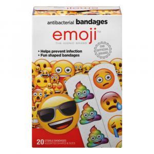 Emoji Antibacterial Bandages