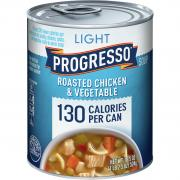 Progresso Light Roasted Chicken and Vegetable