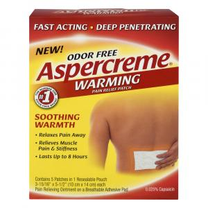 Aspercreme Lidocaine Patch