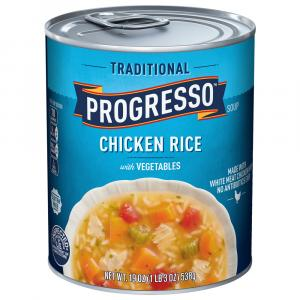 Progresso White Meat Chicken & Rice Soup