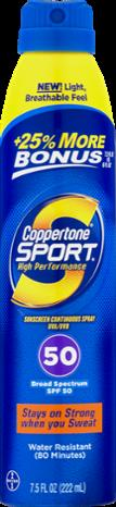 Coppertone Clear Continuous Spray Spf 50