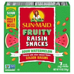 Sun-Maid Sour Raisin Watermelon Snacks