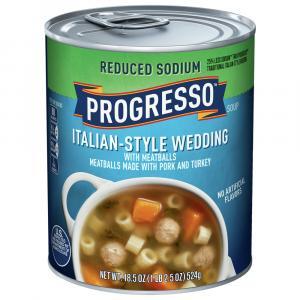 Progresso Reduced Sodium Italian Style Wedding Soup