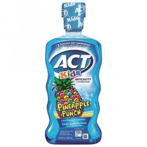 ACT Kids Pineapple Punch Anticavity Fluoride Rinse