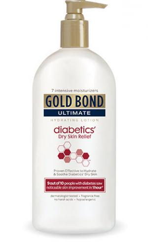Gold Bond Ultimate Diabetics' Dry Skin Relief Hydrating