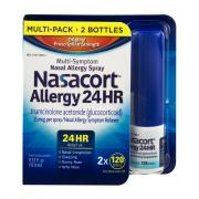 Nasacort Allergy 24 Hour Multi-Pack 2 x 120 Sprays