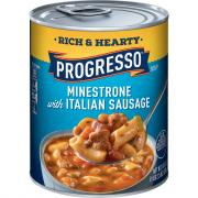 Progresso Rich & Hearty Minestrone with Italian Sausage Soup
