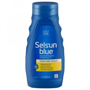 Selsun Blue Itchy Dry Dandruff Shampoo