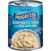 Progresso Traditional Creamy Roasted Chicken Herb Dumplings