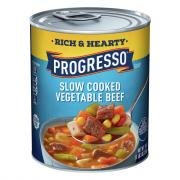 Progresso Hearty Vegetable Beef Soup