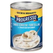 Progresso Rich & Hearty Three Cheese Tortellini with Spinach