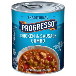 Progresso Traditional Chicken & Sausage Gumbo Soup