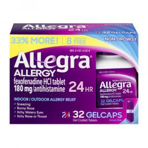 Allegra Allergy Gelcaps