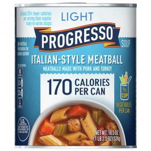 Progresso Light Italian Style Meatball Soup