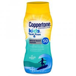 Coppertone Kids Tear Free Sunblock Lotion SPF 50